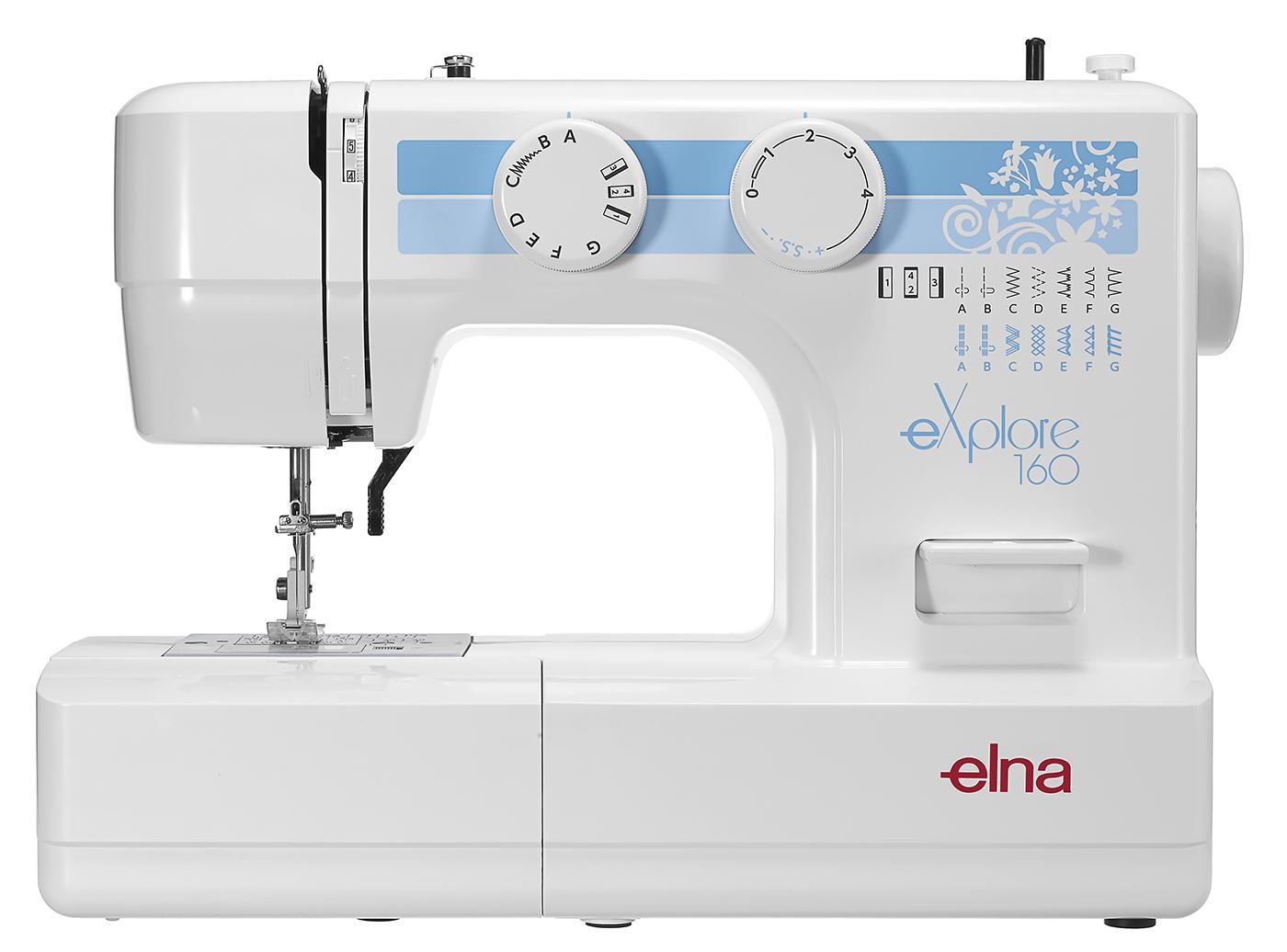 šicí stroj Elna eXplore 160