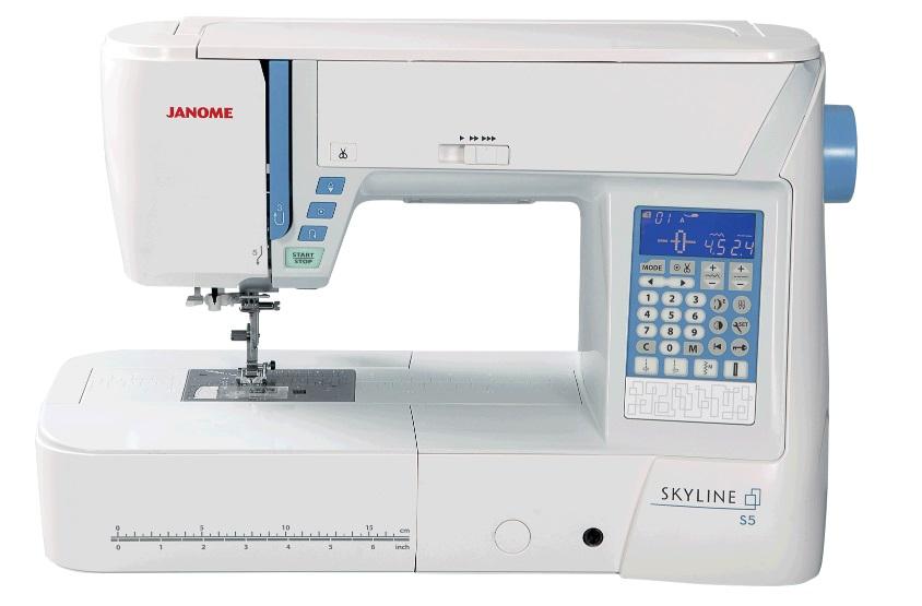šicí stroj Janome Skyline S5