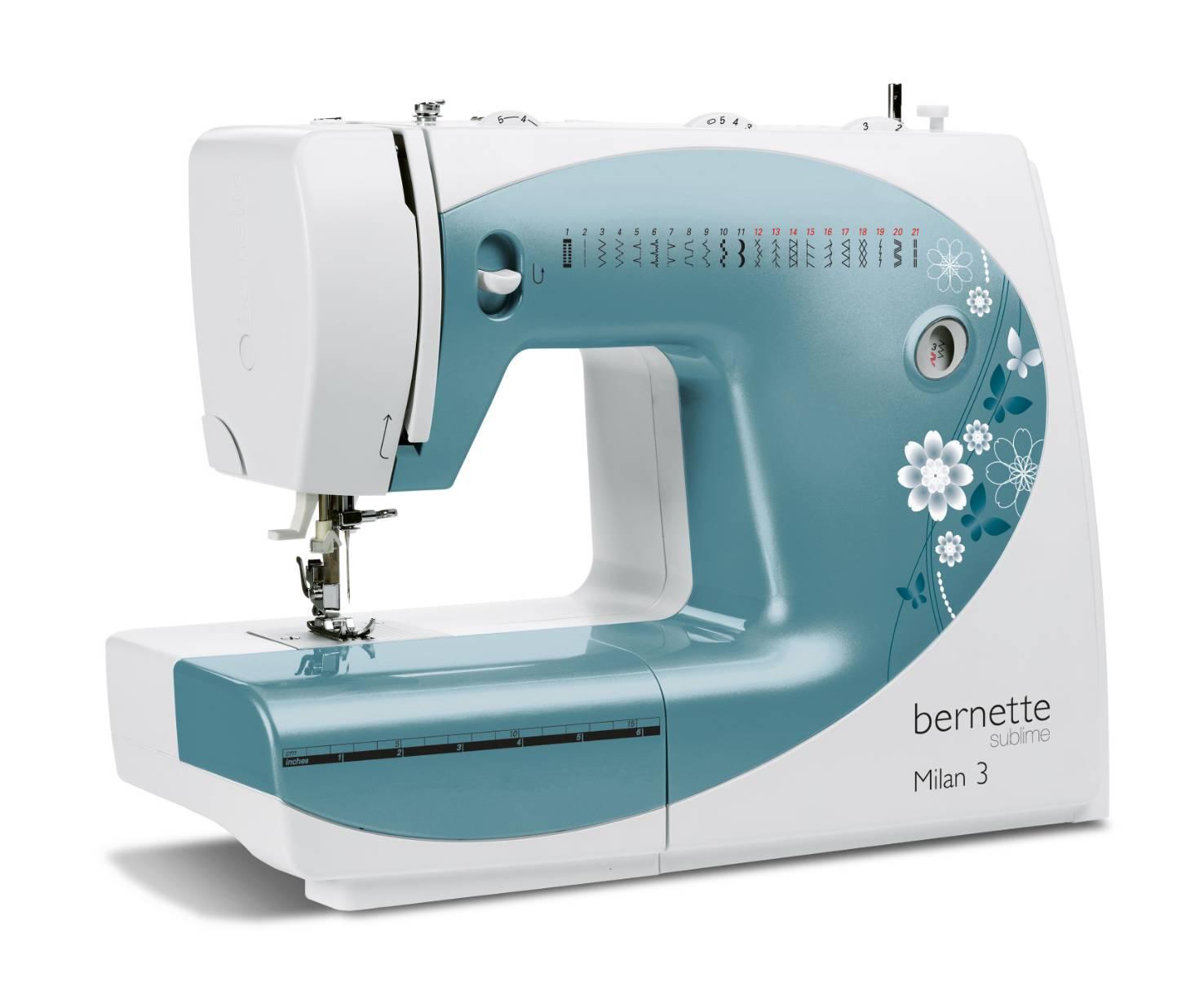 šicí stroj Bernette Milan 3