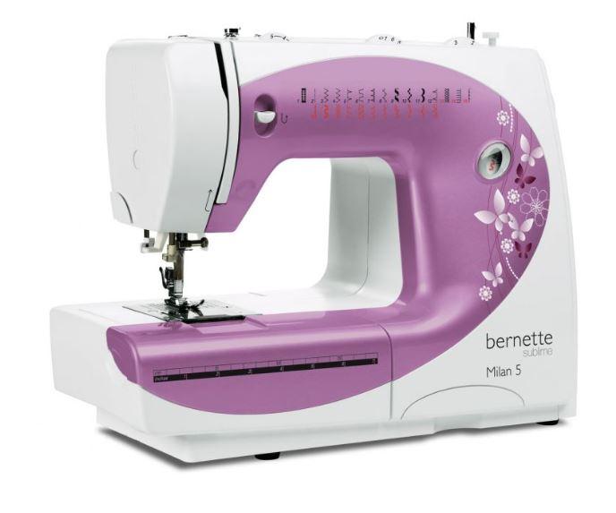 šicí stroj Bernette Milan 5