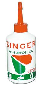 olej velký SINGER 125ml s rozpouštědly starých olejů
