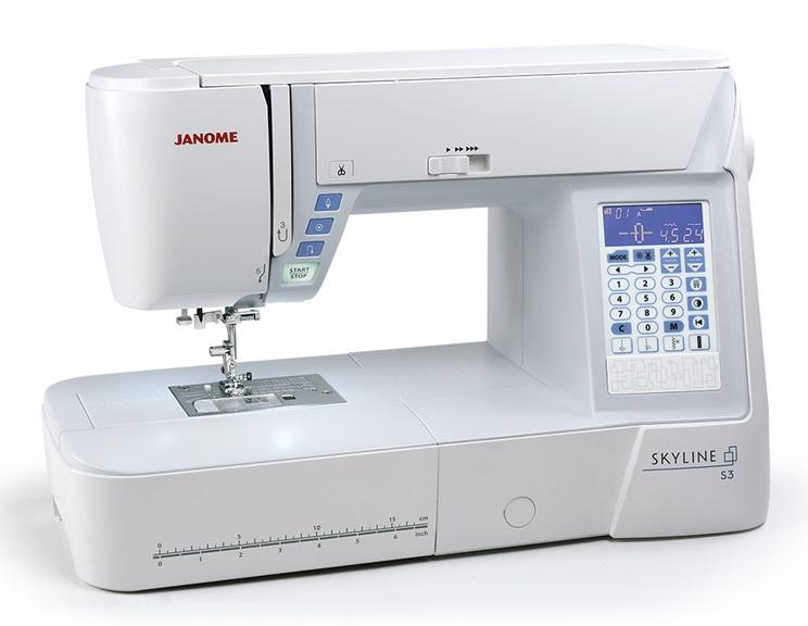 šicí stroj Janome Skyline S3