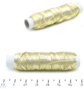 nit vyšívací Titano 50m zlatá/stříbrná