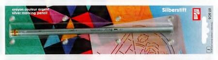tužka na látky stříbrná vypratelná