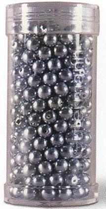 skleněné perličky našívací 4mm-345ks různé barvy
