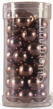 skleněné perličky našívací 8mm-44ks různé barvy