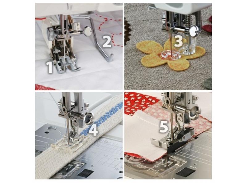 sestava patek pro quilt a patchwork