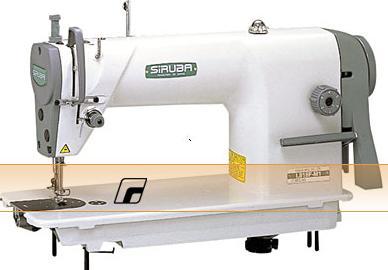 průmyslový šicí stroj s vázaným stehem Siruba L818D-M1 se   servomotorem