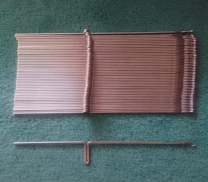 jehly do pletacího stroje Brother KR850/KR820-970 4,5mm