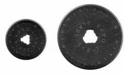 nůž-čepel kulatá náhradní 28mm 2ks