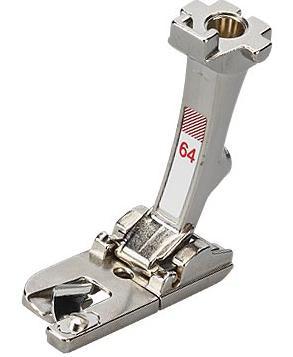 Patka pro úzký lem rovným stehem č.64 (4mm)