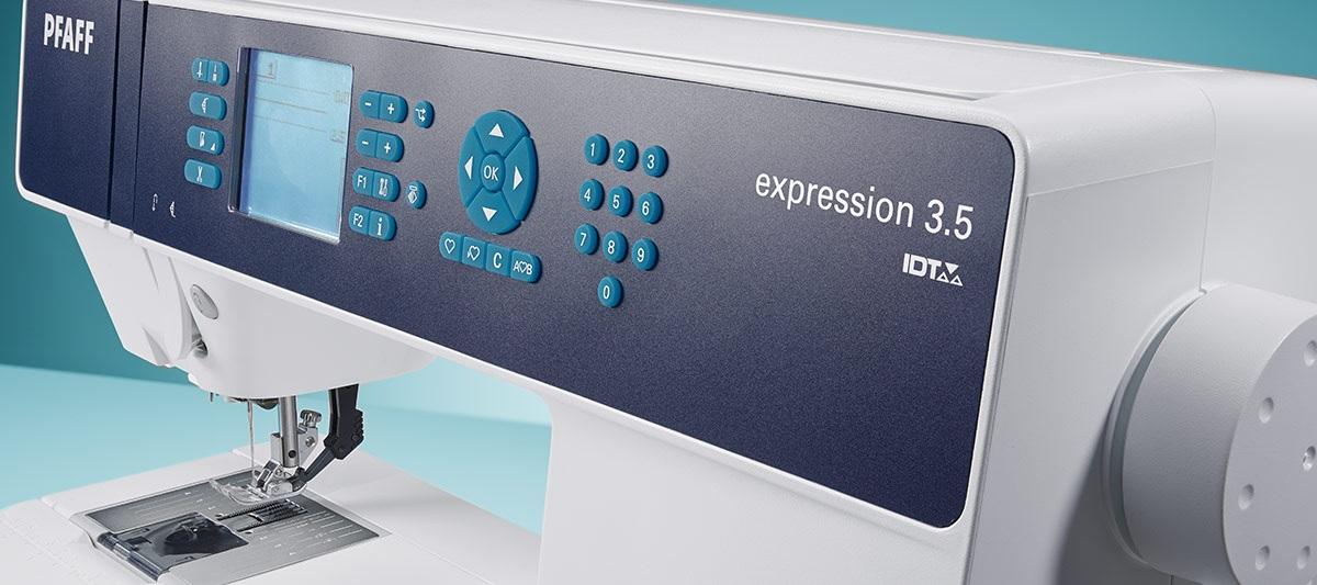 šicí stroj Pfaff Expression 3.5 + 3roky záruka-1