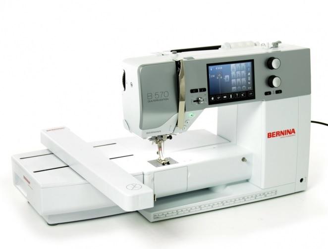 šicí a vyšívací stroj Bernina 570 QE-3