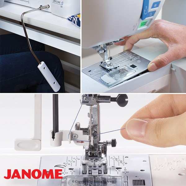 šicí stroj Janome Skyline S5-1