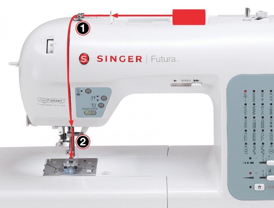 šicí a vyšívací stroj Singer XL-420-3