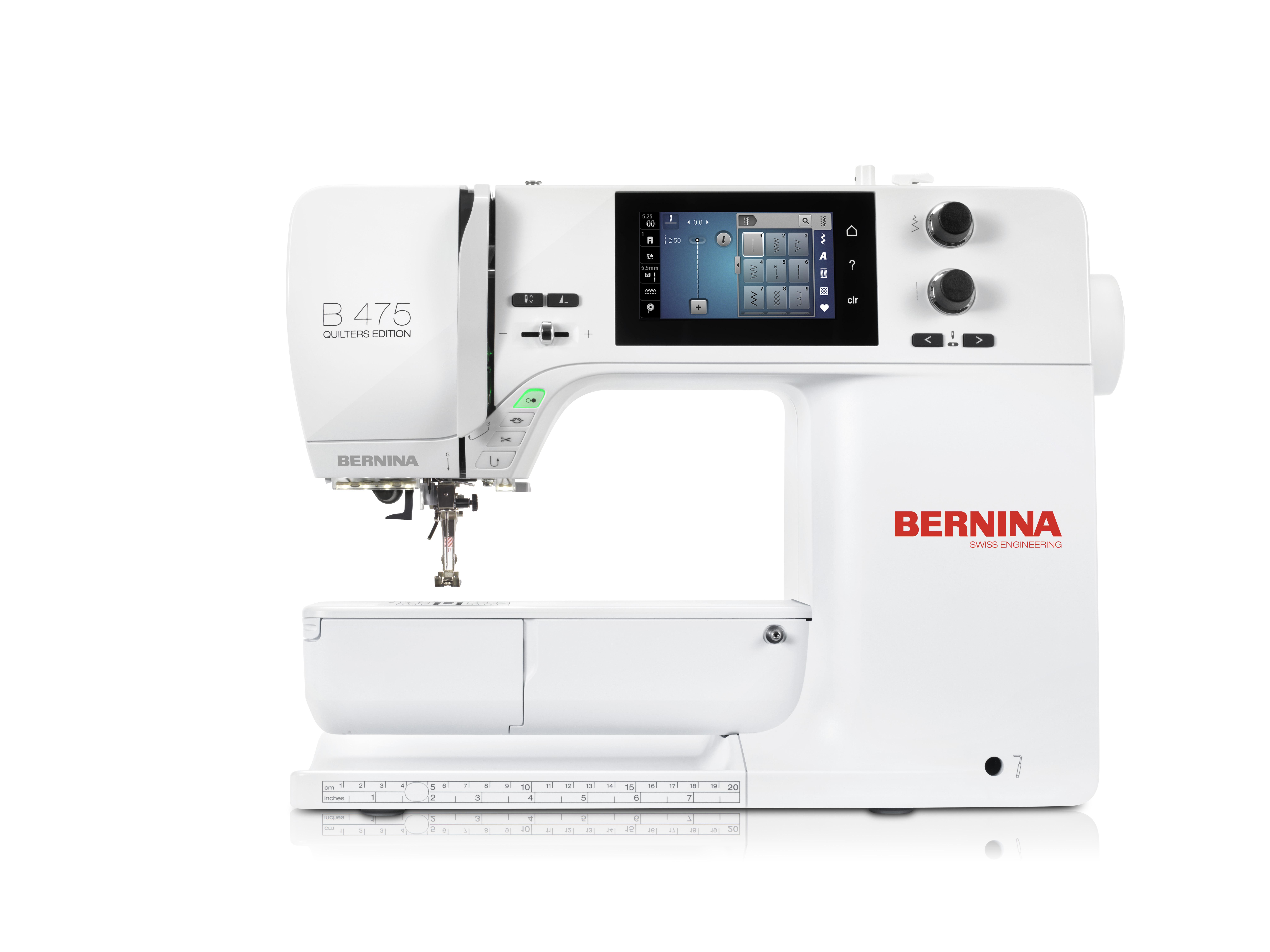 šicí stroj Bernina 475 QE-3