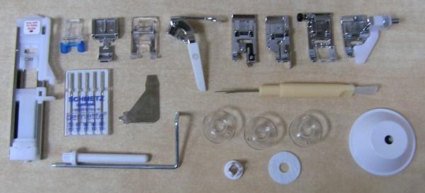 šicí stroj Bernette Milan 8-6