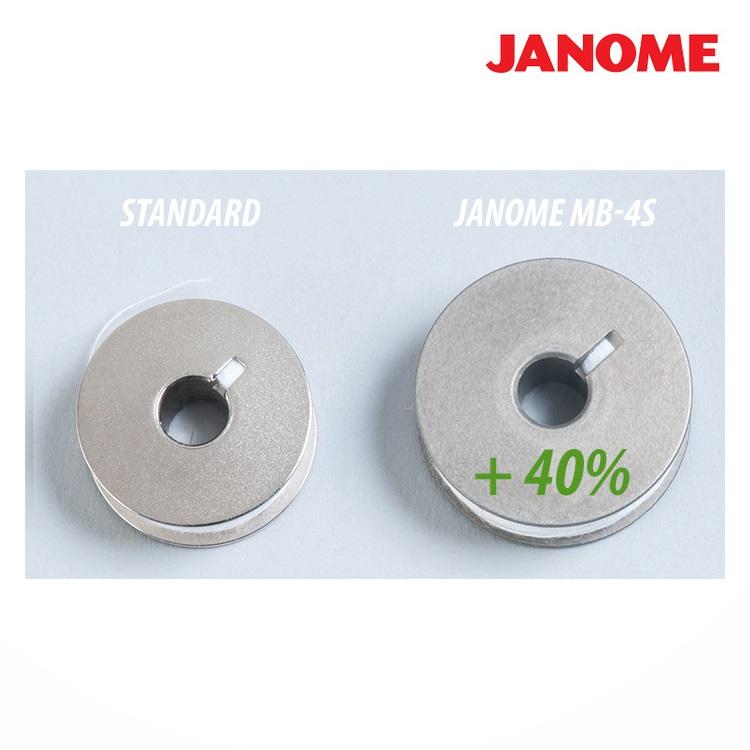 vyšívací stroj Janome MB - 4 S + vyšívací program JANOME Digitizer MBX PROFI COREL ZDARMA-2