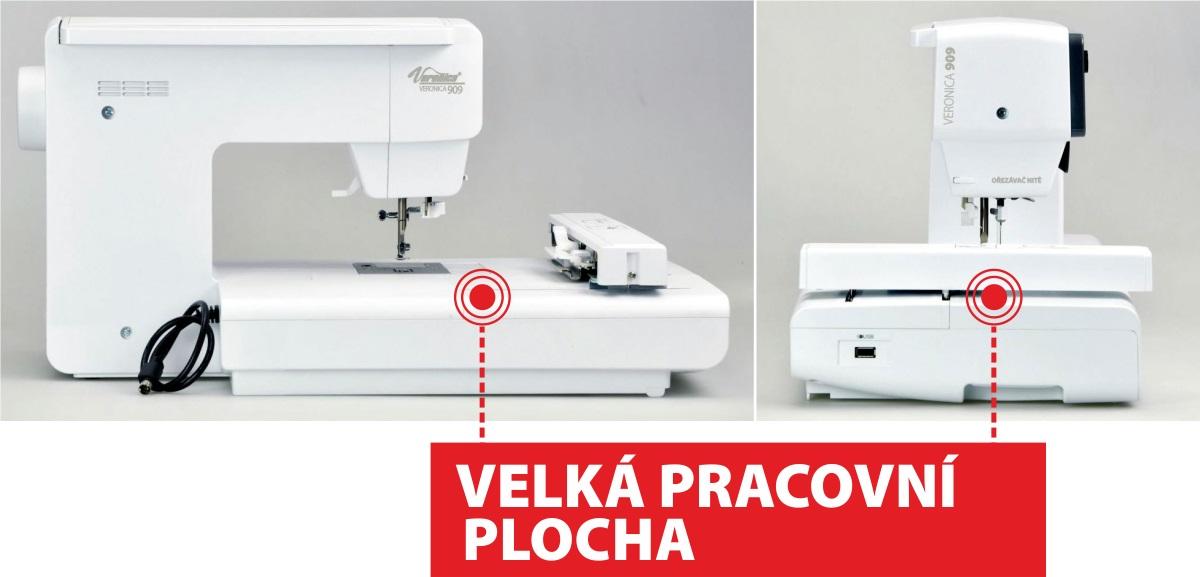 šicí a vyšívací stroj Veronica 909-1