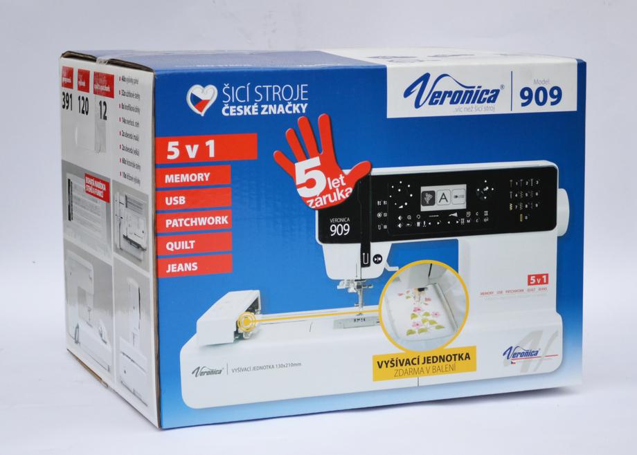šicí a vyšívací stroj Veronica 909-7