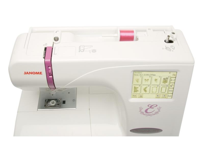 vyšívací stroj Janome MC 350 E + vyšívací software Janome Jr. ZDARMA-1