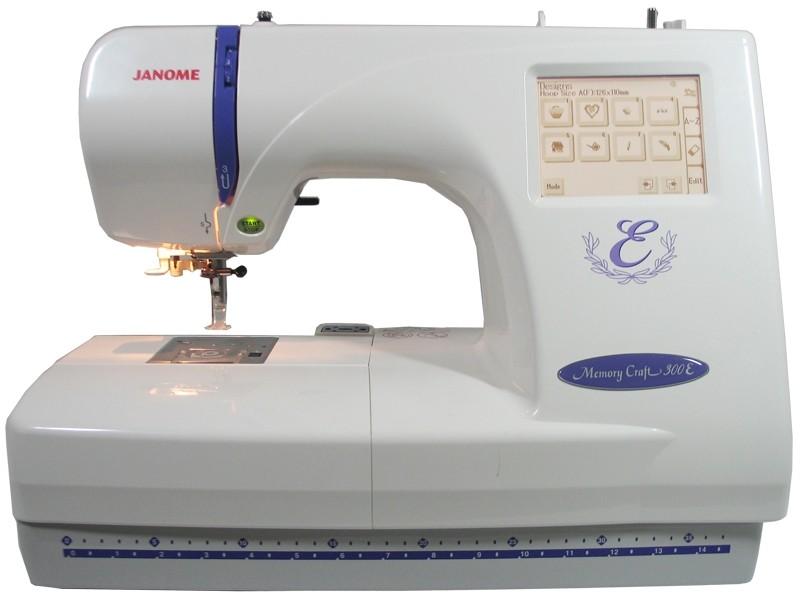 vyšívací stroj Janome MC 350 E + vyšívací software Janome Jr. ZDARMA-5