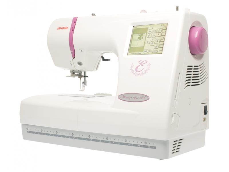 vyšívací stroj Janome MC 350 E + vyšívací software Janome Jr. ZDARMA-6