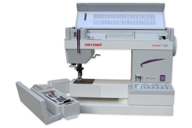 šicí stroj GRITZNER Tipmatic 1035 DFT-1