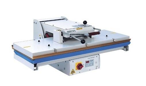 průmyslový žehlící lis PL/T1100 110x40cm - mechanické uzavírání-1