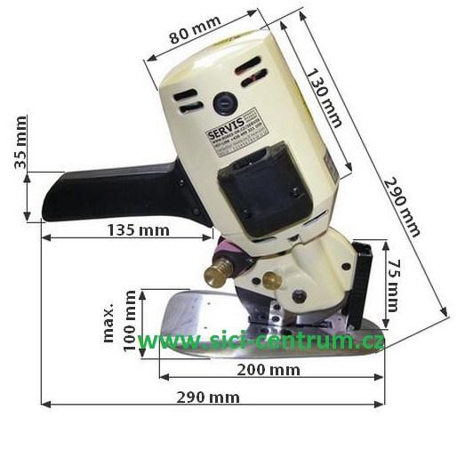 Kotoučová řezačka na textil SU LEE RC-280-1