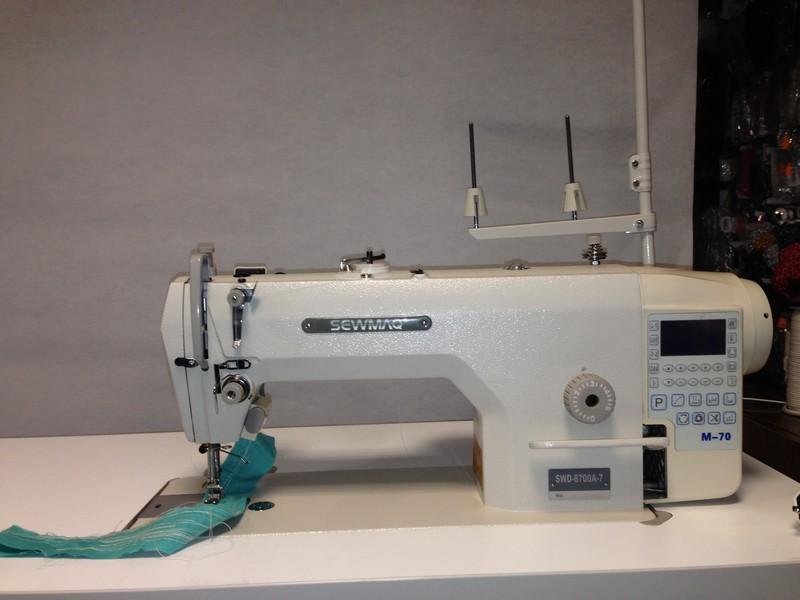 prům.stroj SEWMAQ SWD 8700A-7 se servomotorem M-70E v hlavě stroje.-4