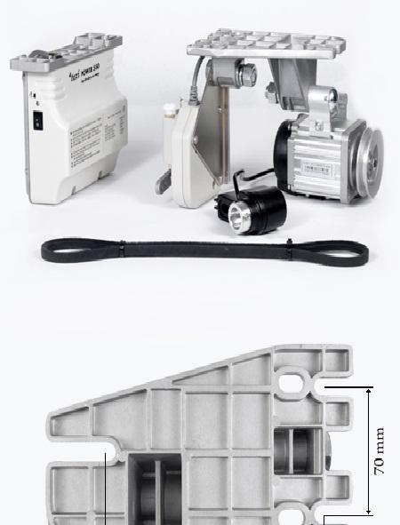 servomotor pro průmyslové šicí stroje 550W-1