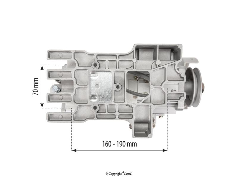 servomotor pro průmyslové šicí stroje 550W-2