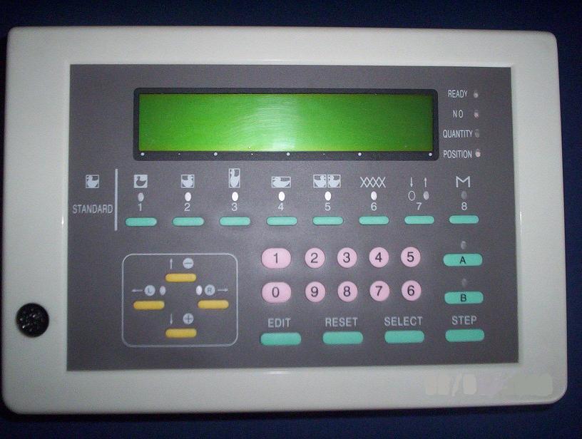 dvojlůžkový pletací stroj Novaknit-S DBZ-245-1 + DBL-245-3  s převěšovacími saněmi.-2