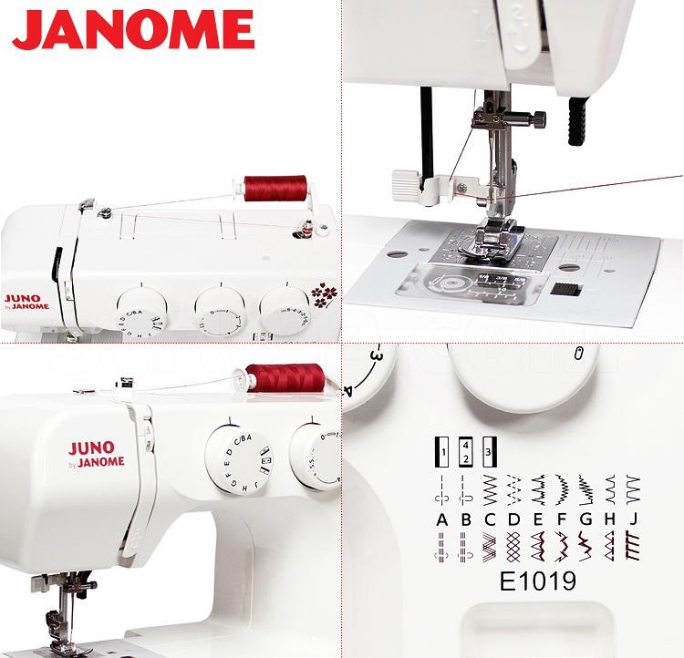 šicí stroj JUNO E1019-1
