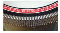 Kettlovací stroj 2,5mm rozchod jehel elekrický se stojanem-2