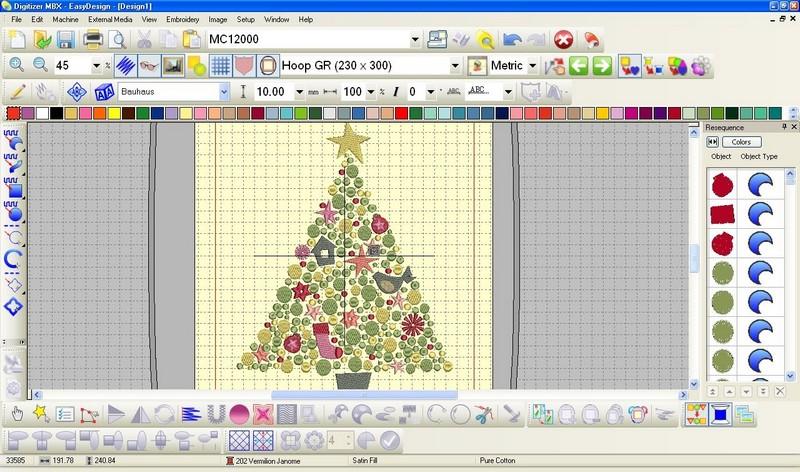 Vyšívací program Janome Digitizer MBX v5.0-1