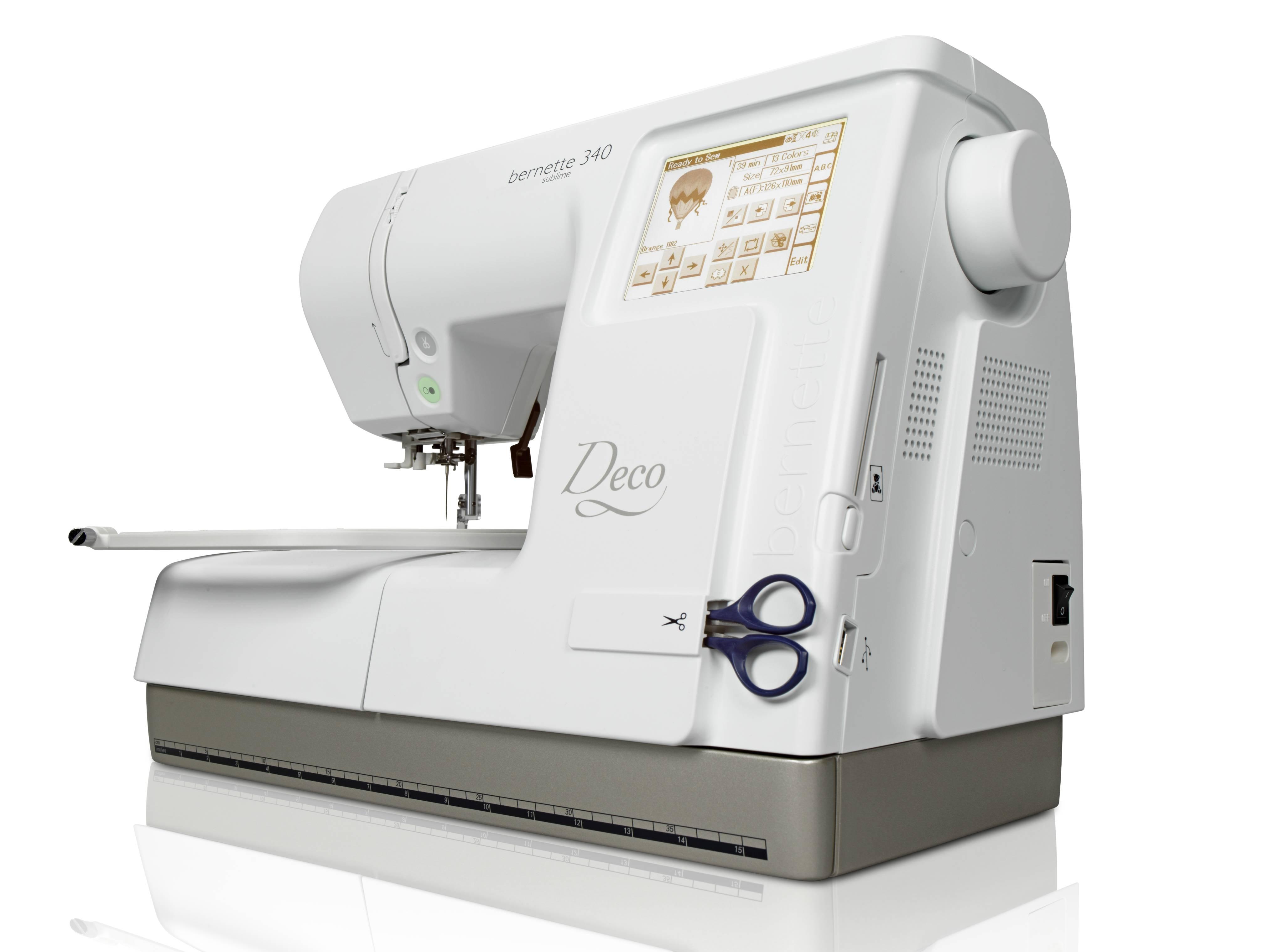 vyšívací stroj Bernette DECO 340-4