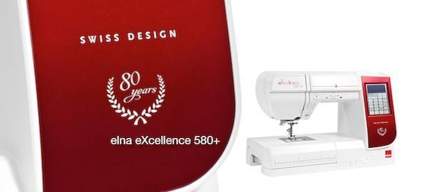 šicí stroj Elna Excellence 580+ 80th-8