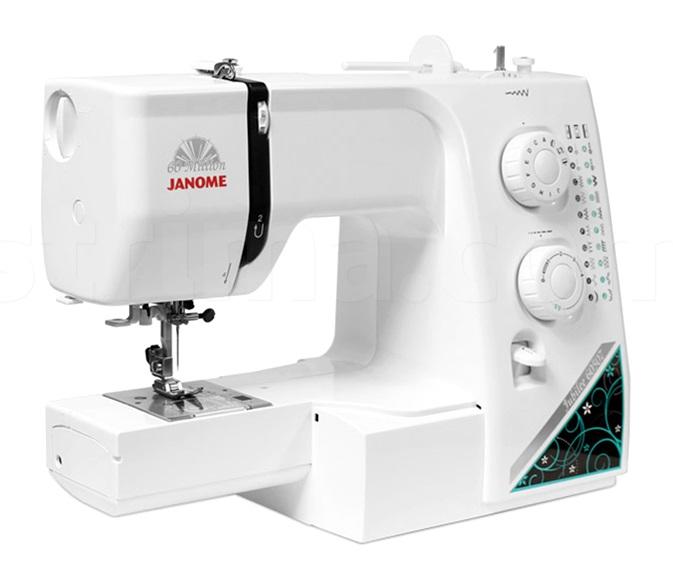 šicí stroj Janome 60507 + sada patek ZDARMA-1
