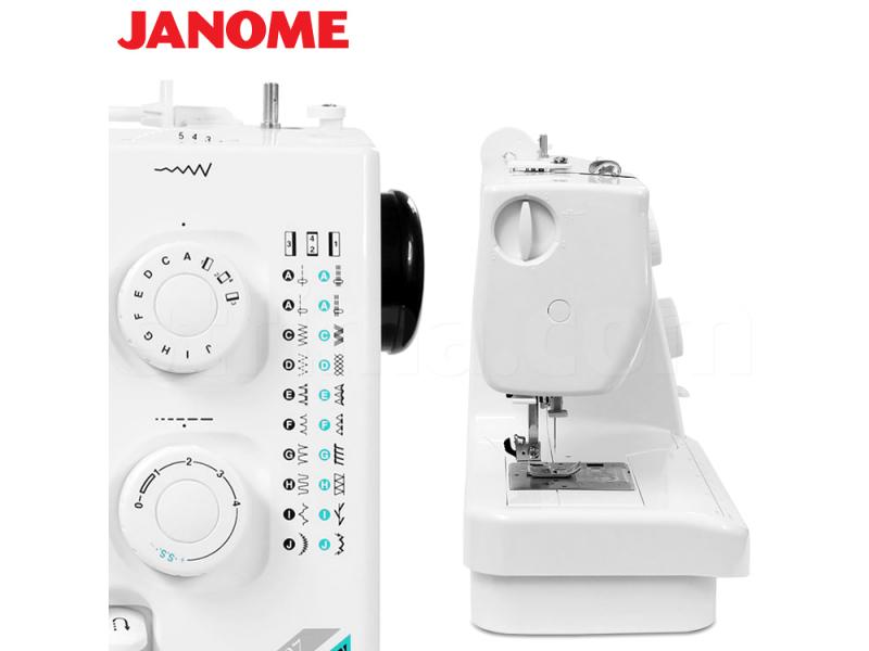šicí stroj Janome 60507 + sada patek ZDARMA-4