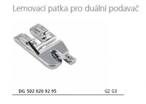 patka lemovací 5020209295 pro Bernette 77/79