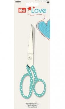krejčovské nůžky 18cm PRYM LOVE