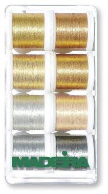 sada nití Madeira Metallic Smooth 8x200m