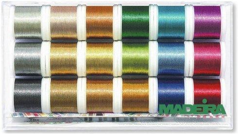 sada nití Madeira Metallic Smooth 18x200m