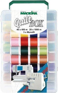 cestovní box nití Madeira Aerofix Quiltbox