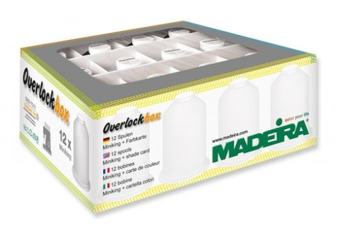 sada nití Madeira 9200 overlock box 3+1