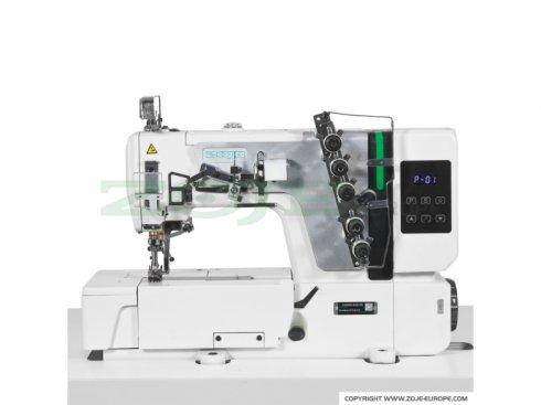 průmyslový coverlock Zoje ZJ-C5000-356-02 SET
