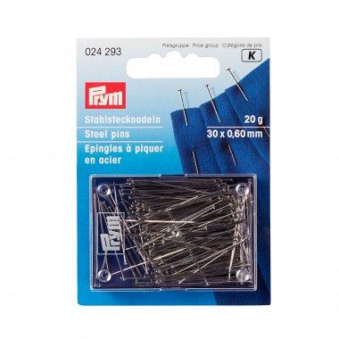 ocelové špendlíky s ochranou proti korozi 0,60mmx30mm 500g