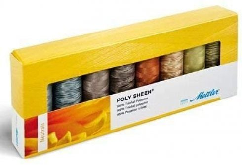 sada nití Mettler Poly Sheen Multi - 8 Kit